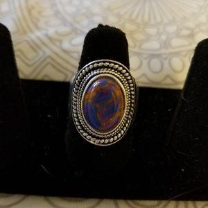 Jewelry - Tibetan silver turquoise ring